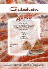 Gutschein für Achatsuche im Claim Schlottwitz - Familie